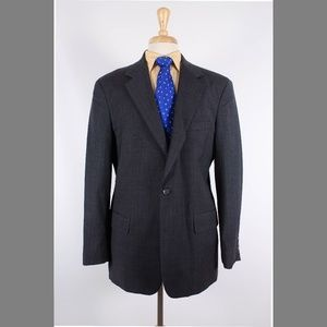 Brooks Brothers 41R Gray Sport Coat Y101